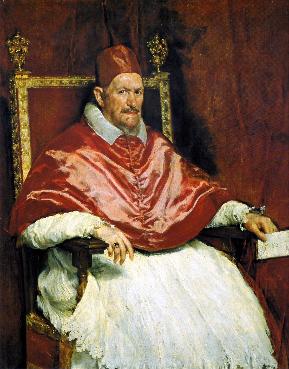 Papa Inocencio X, Velázquez 1655